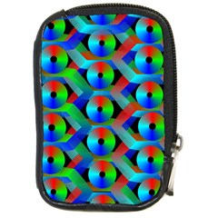Bee Hive Color Disks Compact Camera Cases