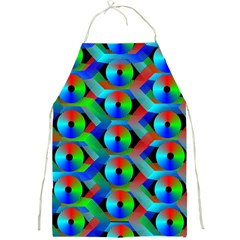 Bee Hive Color Disks Full Print Aprons