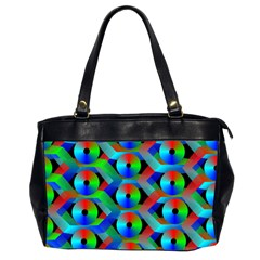 Bee Hive Color Disks Office Handbags (2 Sides)