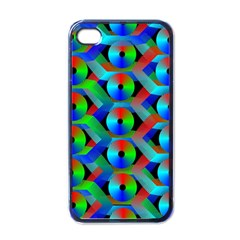 Bee Hive Color Disks Apple Iphone 4 Case (black)