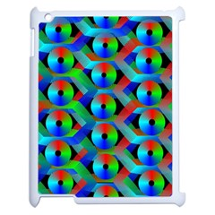 Bee Hive Color Disks Apple Ipad 2 Case (white)