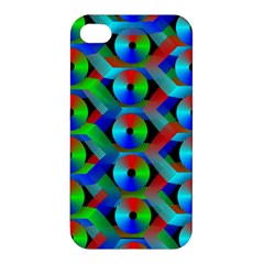Bee Hive Color Disks Apple Iphone 4/4s Hardshell Case