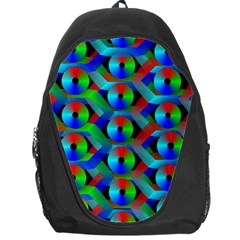 Bee Hive Color Disks Backpack Bag