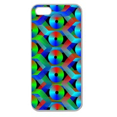 Bee Hive Color Disks Apple Seamless Iphone 5 Case (clear)