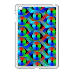 Bee Hive Color Disks Apple Ipad Mini Case (white)
