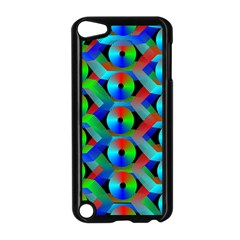 Bee Hive Color Disks Apple Ipod Touch 5 Case (black)