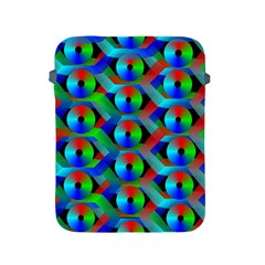Bee Hive Color Disks Apple Ipad 2/3/4 Protective Soft Cases