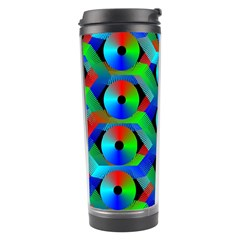Bee Hive Color Disks Travel Tumbler