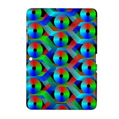Bee Hive Color Disks Samsung Galaxy Tab 2 (10 1 ) P5100 Hardshell Case