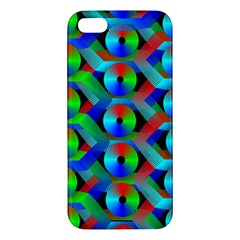Bee Hive Color Disks iPhone 5S/ SE Premium Hardshell Case
