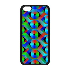 Bee Hive Color Disks Apple Iphone 5c Seamless Case (black)