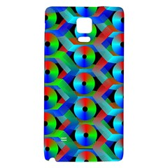 Bee Hive Color Disks Galaxy Note 4 Back Case