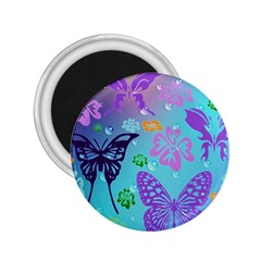 Butterfly Vector Background 2 25  Magnets