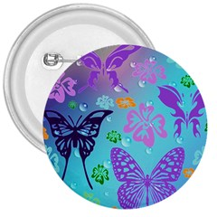 Butterfly Vector Background 3  Buttons