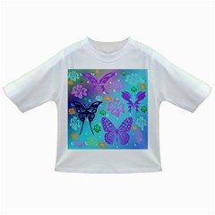 Butterfly Vector Background Infant/Toddler T-Shirts