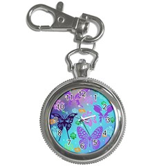 Butterfly Vector Background Key Chain Watches