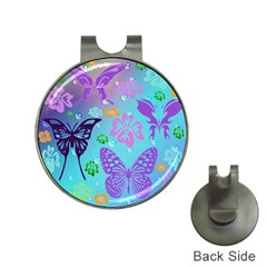 Butterfly Vector Background Hat Clips With Golf Markers