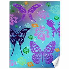 Butterfly Vector Background Canvas 36  X 48