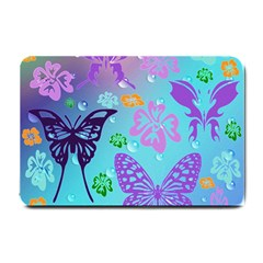 Butterfly Vector Background Small Doormat
