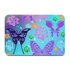 Butterfly Vector Background Plate Mats