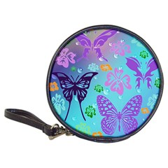 Butterfly Vector Background Classic 20 Cd Wallets