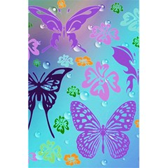 Butterfly Vector Background 5 5  X 8 5  Notebooks