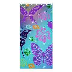 Butterfly Vector Background Shower Curtain 36  X 72  (stall)