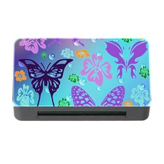 Butterfly Vector Background Memory Card Reader With Cf