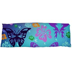 Butterfly Vector Background Body Pillow Case Dakimakura (two Sides)