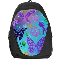 Butterfly Vector Background Backpack Bag