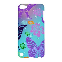 Butterfly Vector Background Apple Ipod Touch 5 Hardshell Case