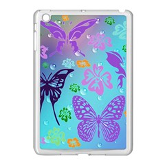 Butterfly Vector Background Apple Ipad Mini Case (white)