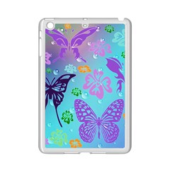 Butterfly Vector Background Ipad Mini 2 Enamel Coated Cases