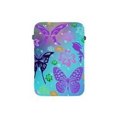 Butterfly Vector Background Apple iPad Mini Protective Soft Cases