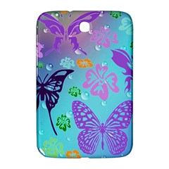 Butterfly Vector Background Samsung Galaxy Note 8 0 N5100 Hardshell Case