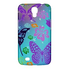 Butterfly Vector Background Samsung Galaxy Mega 6 3  I9200 Hardshell Case