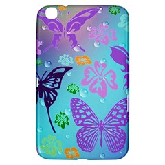 Butterfly Vector Background Samsung Galaxy Tab 3 (8 ) T3100 Hardshell Case
