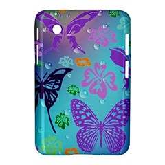 Butterfly Vector Background Samsung Galaxy Tab 2 (7 ) P3100 Hardshell Case