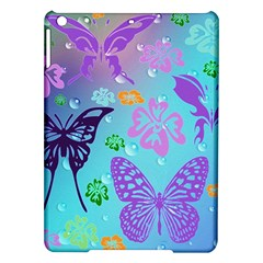 Butterfly Vector Background iPad Air Hardshell Cases