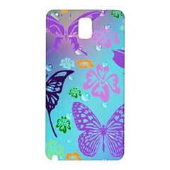 Butterfly Vector Background Samsung Galaxy Note 3 N9005 Hardshell Back Case