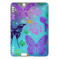 Butterfly Vector Background Kindle Fire Hdx Hardshell Case
