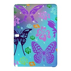 Butterfly Vector Background Samsung Galaxy Tab Pro 10.1 Hardshell Case