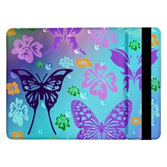 Butterfly Vector Background Samsung Galaxy Tab Pro 12.2  Flip Case