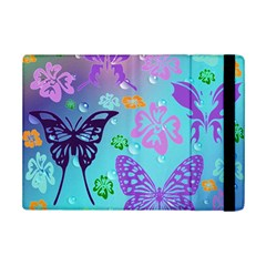 Butterfly Vector Background Ipad Mini 2 Flip Cases