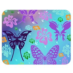 Butterfly Vector Background Double Sided Flano Blanket (medium)