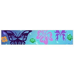Butterfly Vector Background Flano Scarf (small)