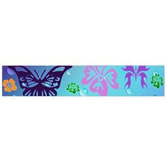 Butterfly Vector Background Flano Scarf (large)