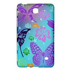 Butterfly Vector Background Samsung Galaxy Tab 4 (7 ) Hardshell Case