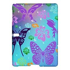 Butterfly Vector Background Samsung Galaxy Tab S (10 5 ) Hardshell Case