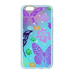 Butterfly Vector Background Apple Seamless iPhone 6/6S Case (Color)